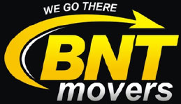 Black BNT Movers Logo