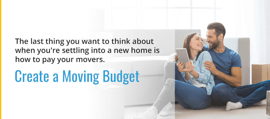 Create a Moving Budget