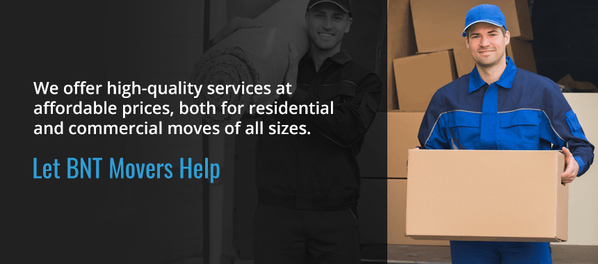 Let BNT Movers Help