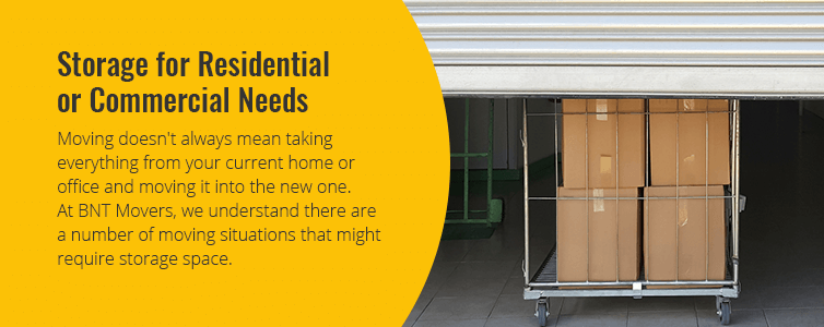 Storage for Residential or Commercial Needs